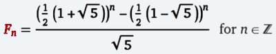 Binet's Equation